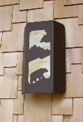 Large Wall Sconce - Bear Design
