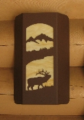 Small Wall Sconce - Elk Design